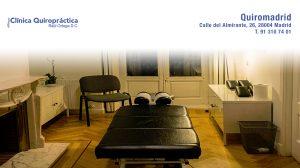 Nuestra clínica Quiromadrid, quiropráctica en Madrid