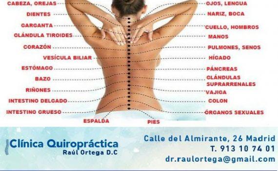 trastornos digestivos y pinzamientos cervicales